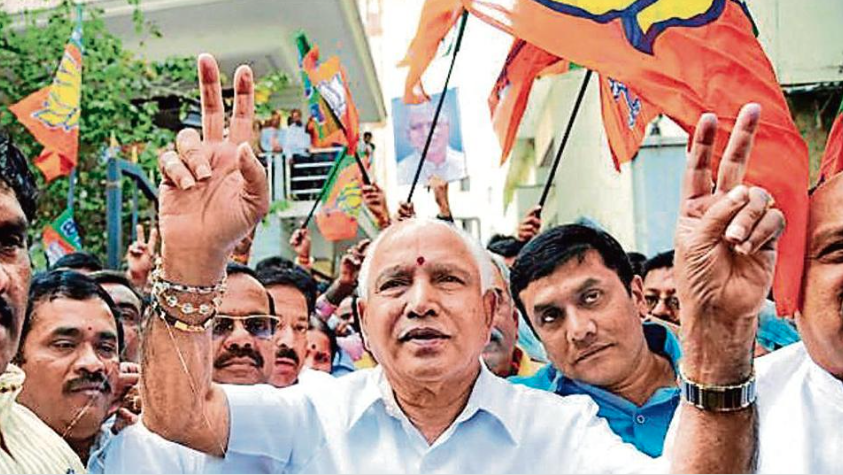 The BJP's revival has also been attributed to the return of Lingayat leader BS Yeddyurappa. (Credit: PTI)