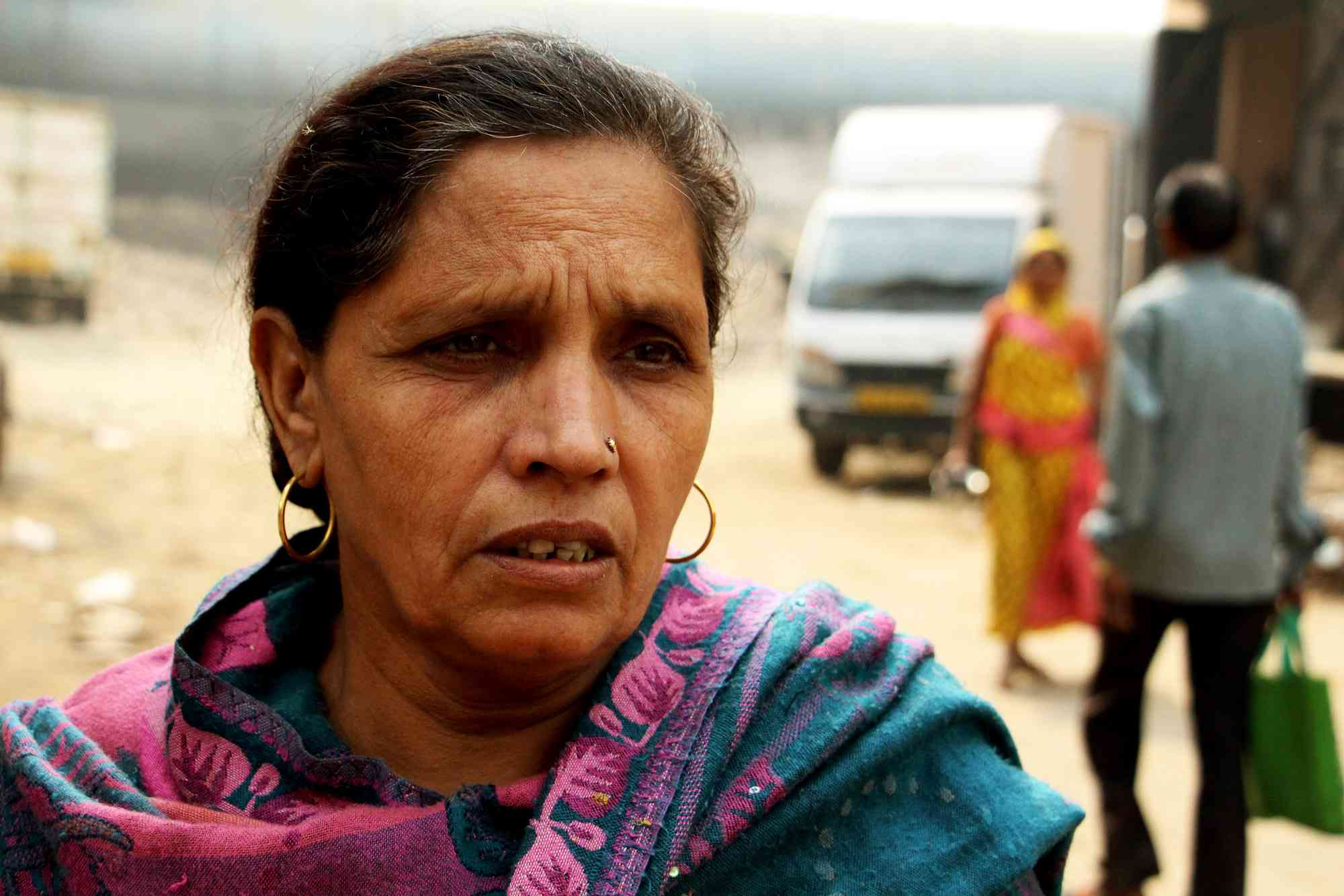 Kamla Devi has lived in Bhalswa since 1972.