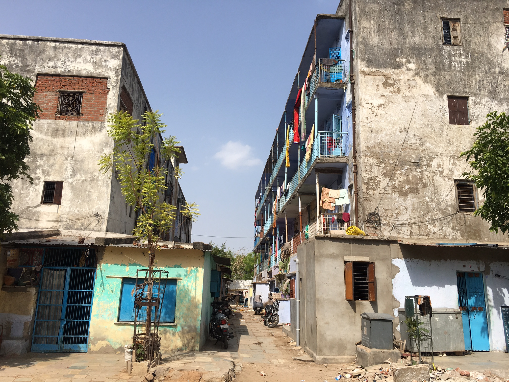 Bapunagar, where Zika surveillance was conducted in early 2017 and blood samples collected from residents. (Photo: Priyanka Vora)