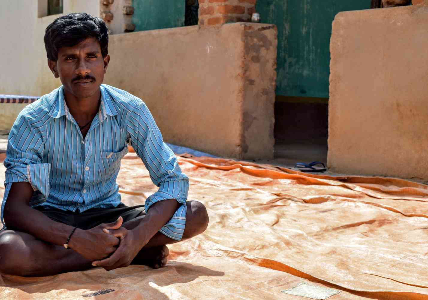 Hanumanth Goud would be eligible for the Modi government's farmer income support scheme. But he wants the government to fund NREGA instead. Photo: Aruna Chandrasekhar