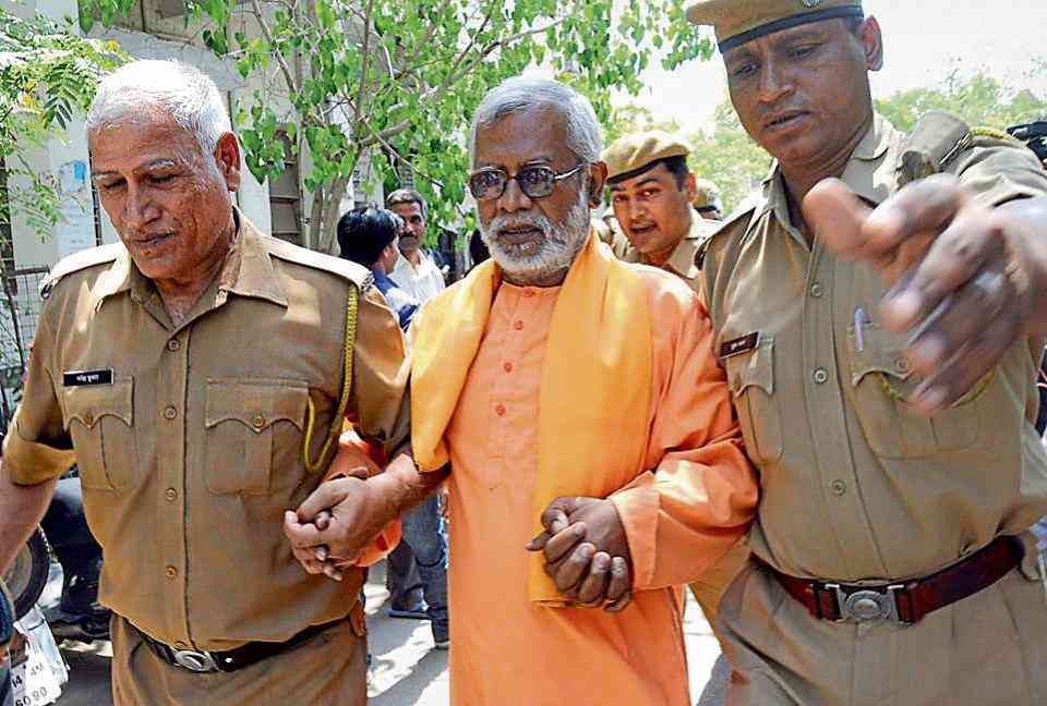 A special National Investigation Agency court in Panchkula, Haryana, acquitted four people, including main accused Swami Aseemanand, in the 2007 Samjhauta train bombing case, on March 20. (Photo credit: HT).