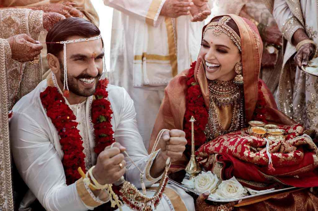 Deepika Padukone was a beaming bride at her wedding ceremony on November 14-15.