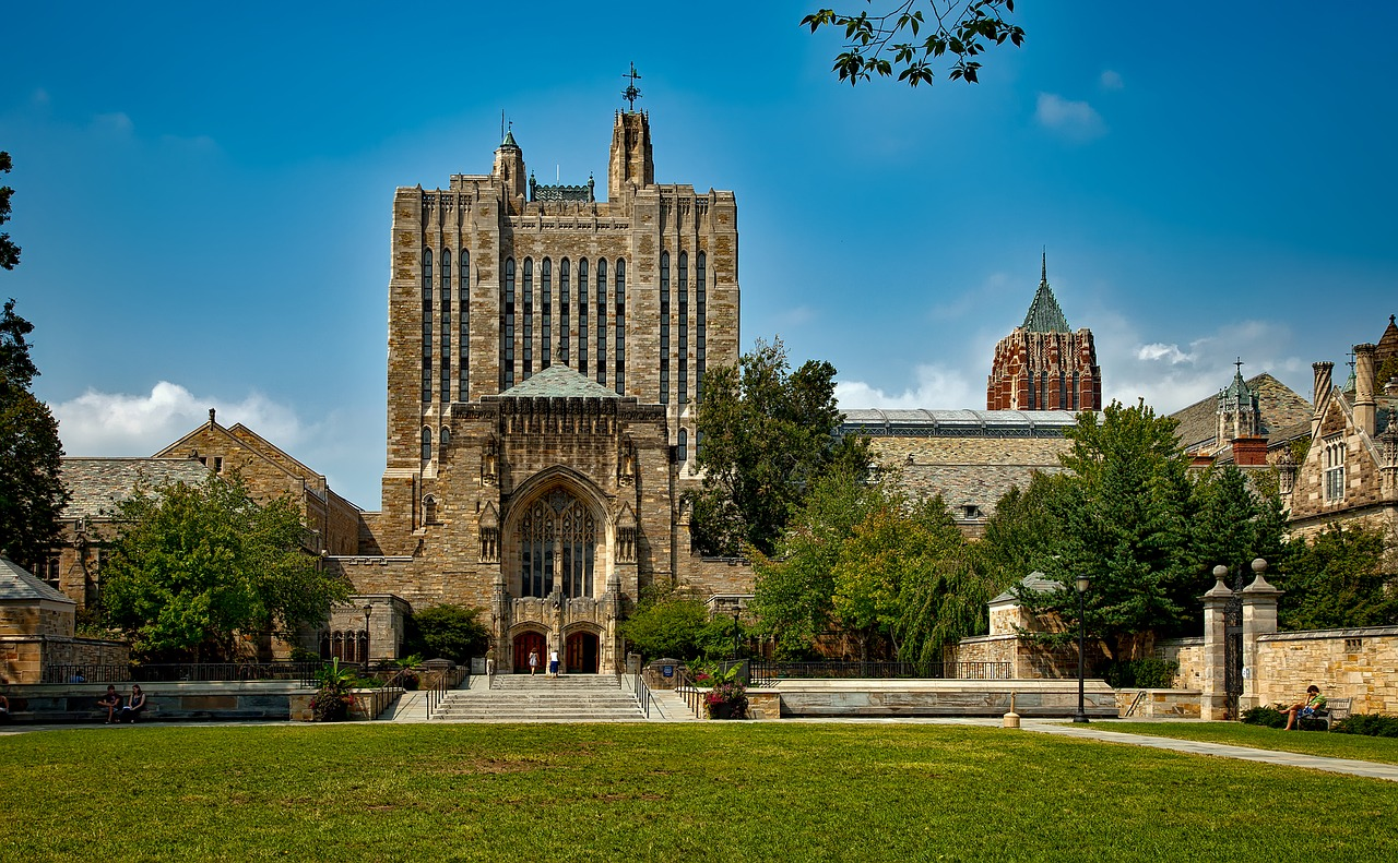 Yale University. Credit: via Pixabay CC BY