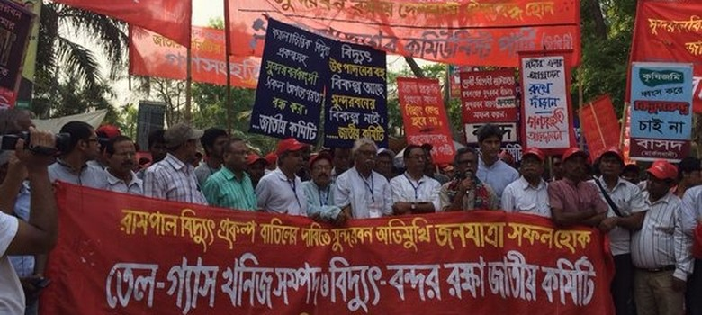 In photos: The long march in Bangladesh to save the Sundarbans from