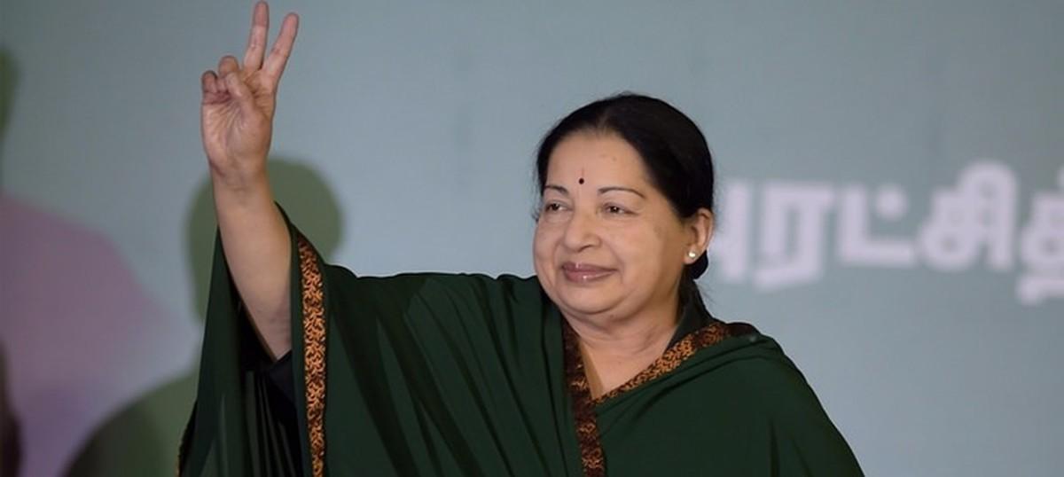 J Jayalalithaa sworn in as chief minister of Tamil Nadu