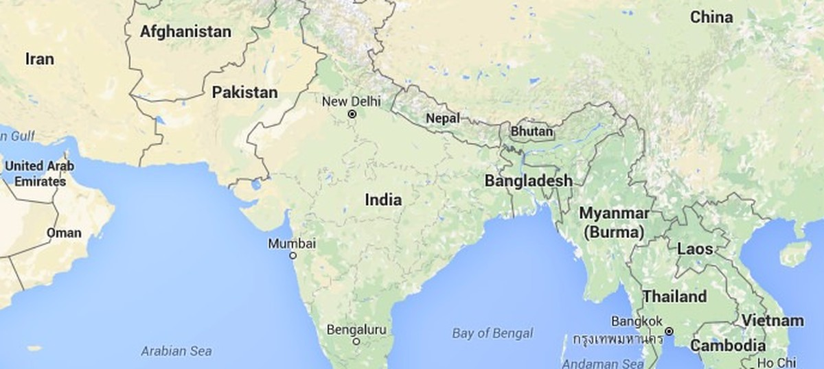 Producing an incorrect map of India could bring a Rs 100 ... on india china boundary map, spain border map, india border changes, russia border map, australia border map, france border map, pakistan border map, western chinese border map,