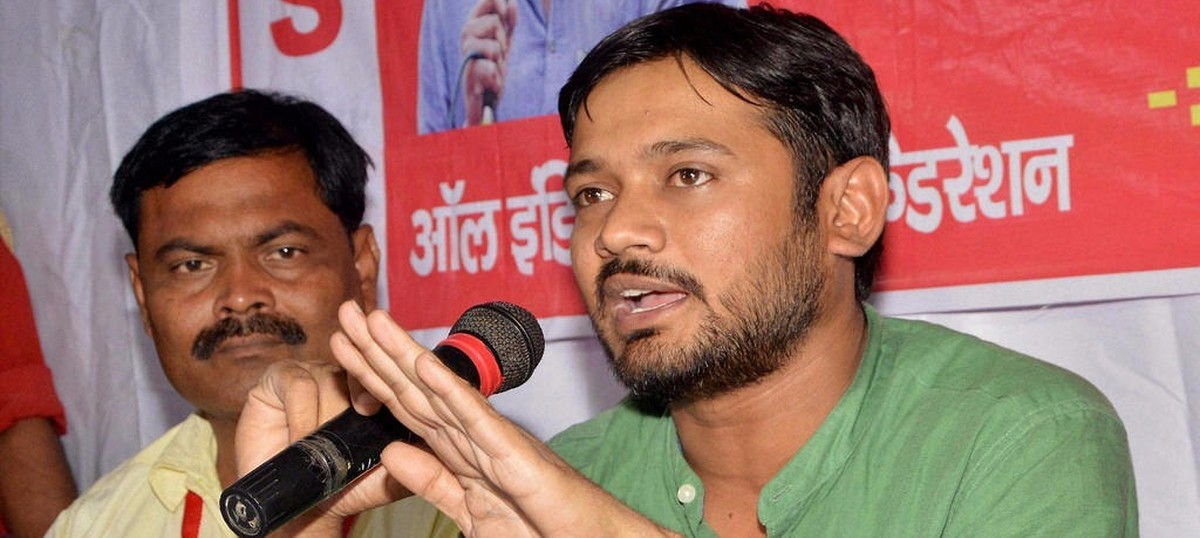 Mob disrupts Kanhaiya Kumar's programme at literary festival in Lucknow
