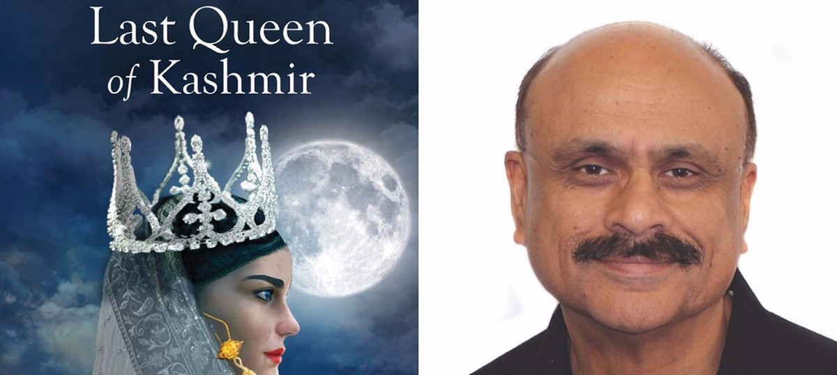 Image result for The Last Queen of Kashmir' - Author Interview photos