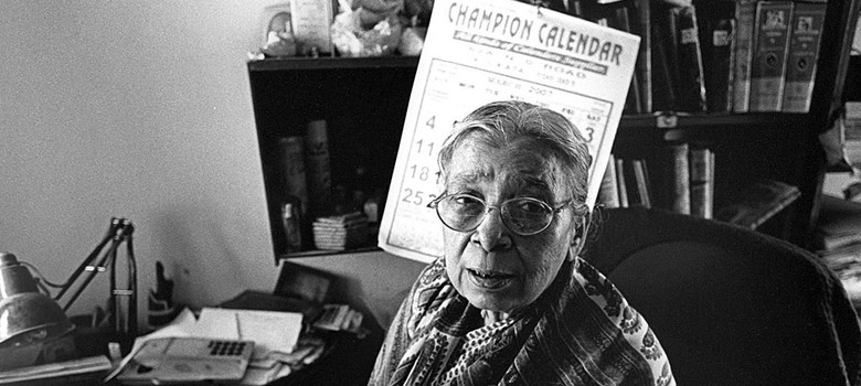 At 90, Mahasweta Devi has enriched literature with her books as well as her words