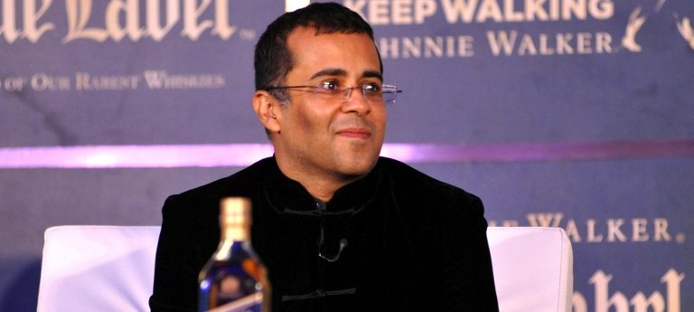 The Chetan Bhagat interview: 'More work happens on the Nach Baliye sets than in Parliament'