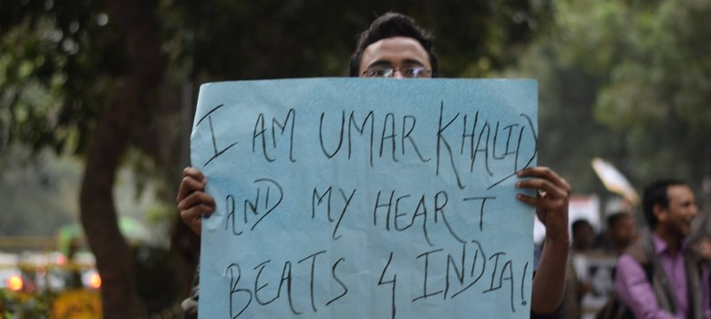 Will JNU continue to stand behind Umar Khalid after Kanhaiya Kumar is released?