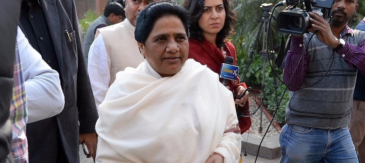 Uttar Pradesh BJP leader sacked for saying Mayawati 'worse than a prostitute'