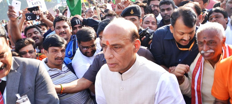 The big news: Rajnath Singh reaches Srinagar to review situation in J&K, and nine other top stories