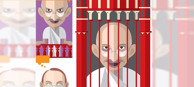 From Gandhi to Arindam Chaudhuri: An illustrated history of free speech in India