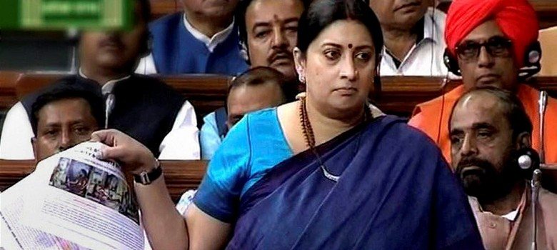 Parliament: Congress fumes, demands apology from Smriti Irani for remarks on Durga
