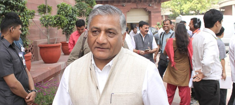 Dog remark: Court dismisses petition for FIR against VK Singh