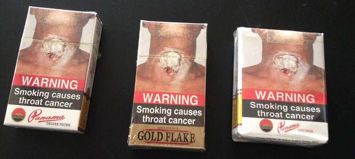 India has the third-largest cigarette packet warnings in the world, finds report