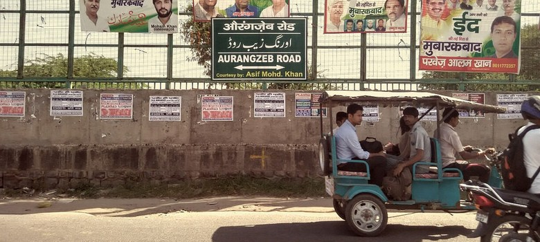 Delhi has a new Aurangzeb Road but no one seems enthusiastic about it