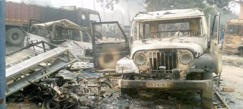 BJP investigative team detained in Malda, West Bengal