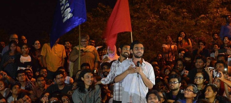 JNU student Umar Khalid's talk at Ramjas College cancelled after ABVP protests turn violent