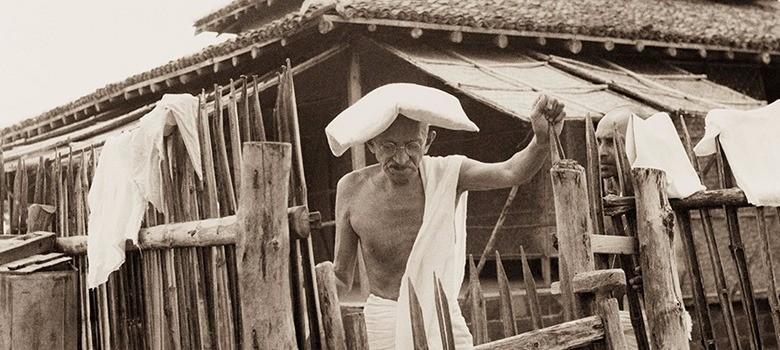 Rare find: Little-known photographs of the Mahatma by 'Bapu's Hanuman'