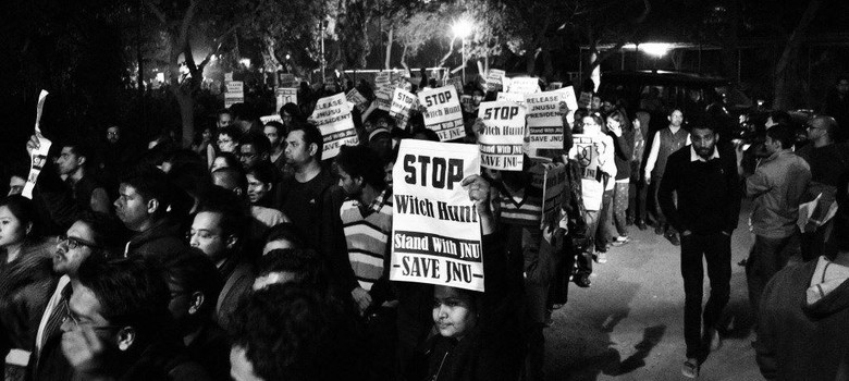 The students at the JNU meet on Afzal Guru weren't carrying guns ‒ they only carried ideas