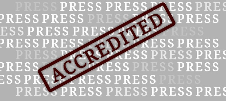 What explains the astonishingly high number of accredited journalists in Andhra Pradesh?