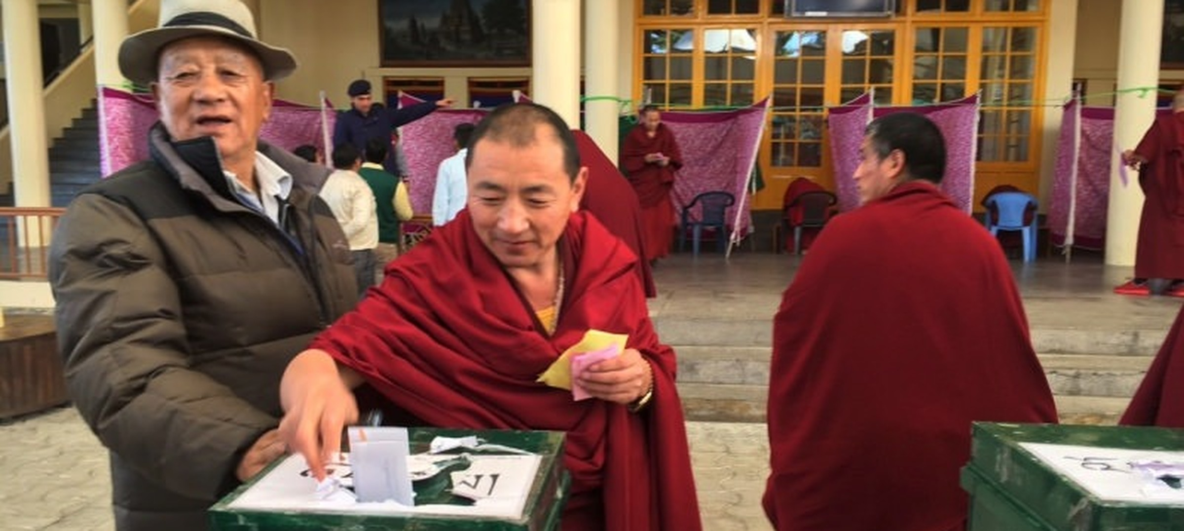 In pictures: Tibetans in McLeodganj line up to elect their new government-in-exile