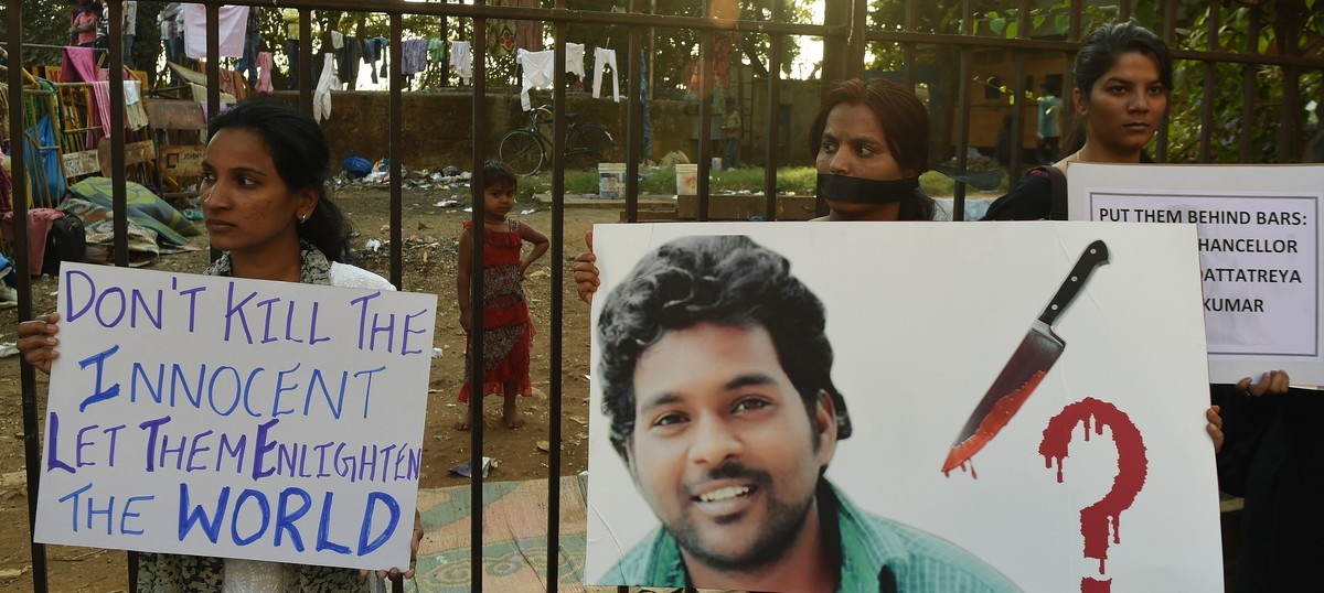 'There are no heroes here': Why media covered JNU far more than Hyderabad University