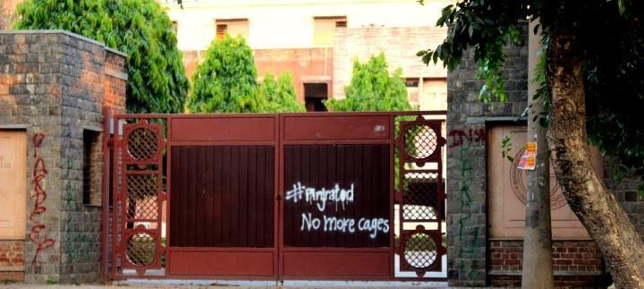 Here's why graffiti on Delhi University walls is exhorting women hostellers to 'break the locks'