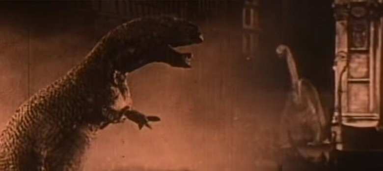 Meet the first dinosaurs to have run amok on the big screen