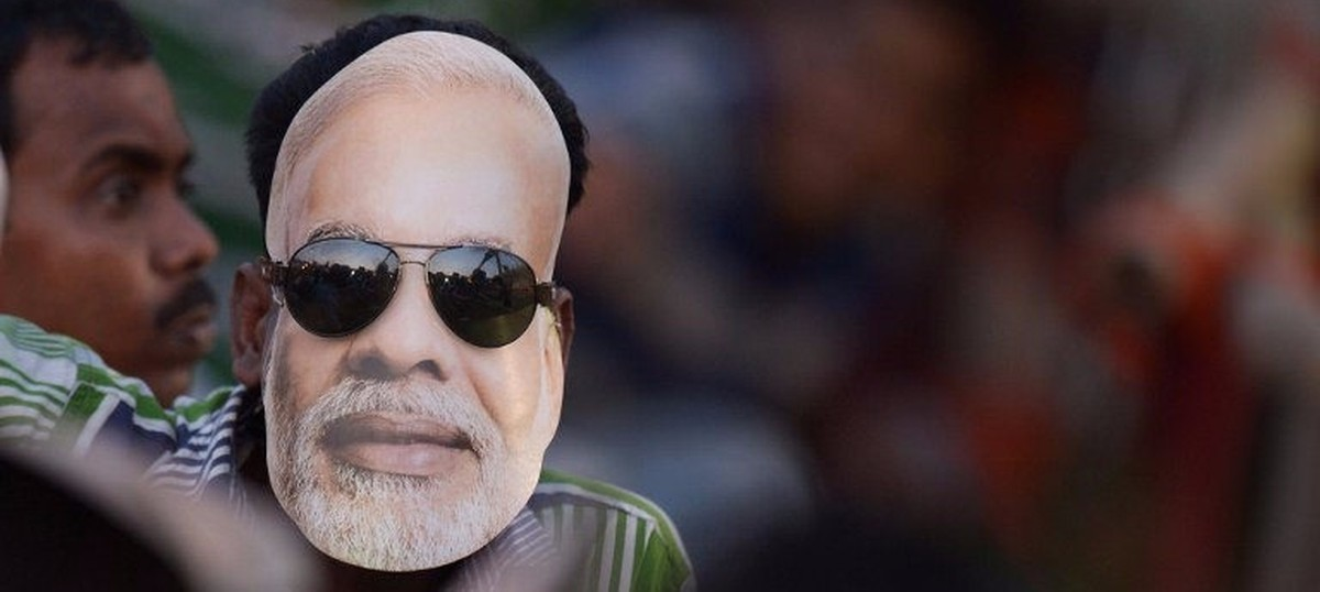Why the Modi mask is no longer in fashion in Delhi's iconic Sadar Bazaar