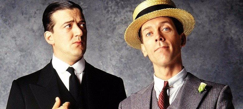 Image result for stephen fry hugh laurie jeeves wooster