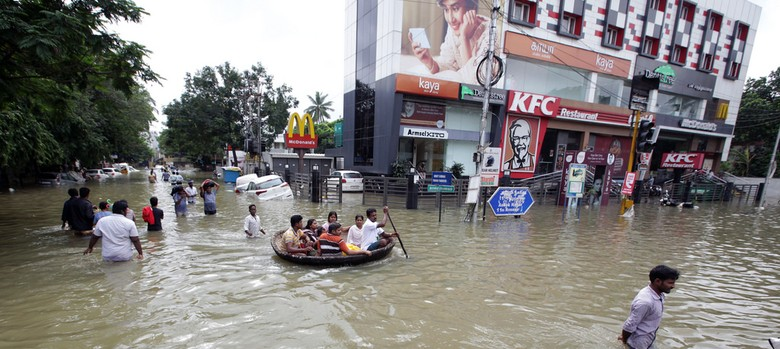 Lessons from the Chennai floods: Local businesses are uniquely equipped to chip in during disasters