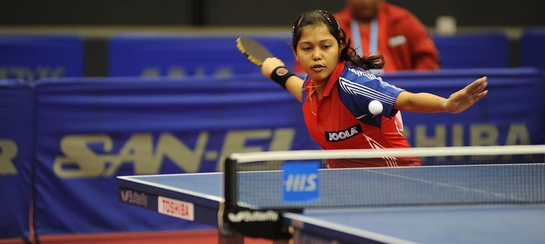 Once a naughty child, Mouma Das is now one of Indian table tennis's leading lights