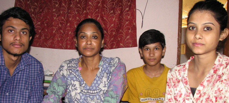 Meet Nisha, the toilet attendant who doesn't let a small house limit the dreams of her children