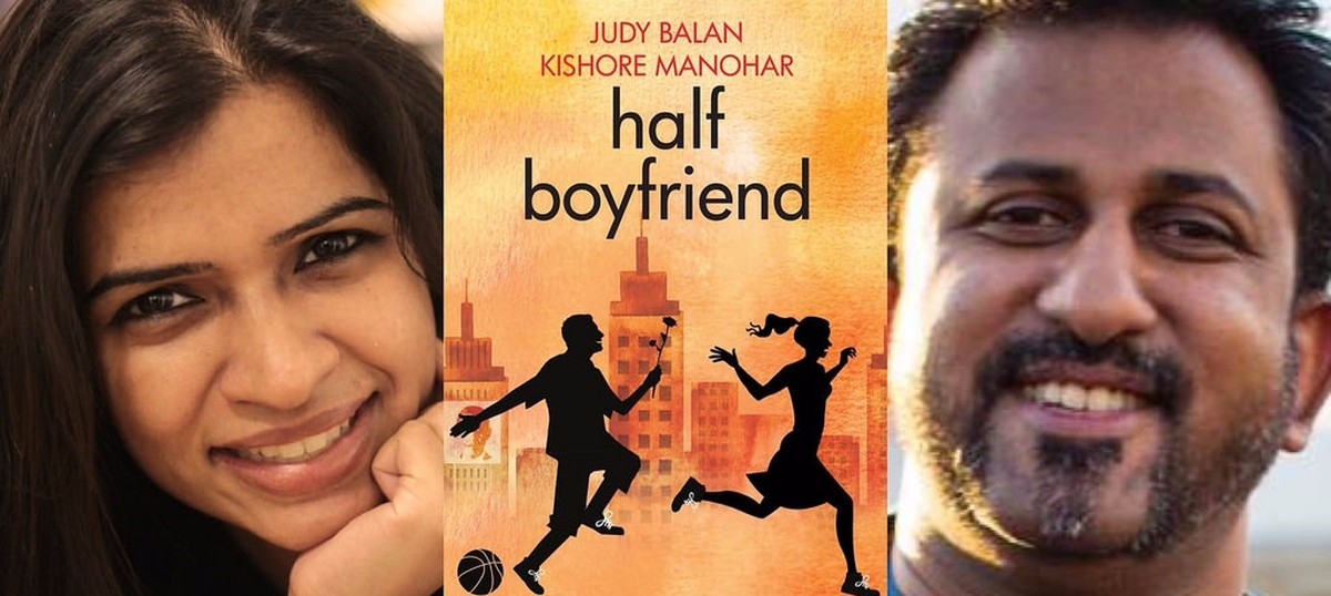 Here's 'Half Boyfriend', and it's ghost-written by 'D-Bag'