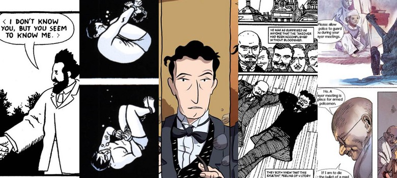 Five biographies in graphic novel form that you must read