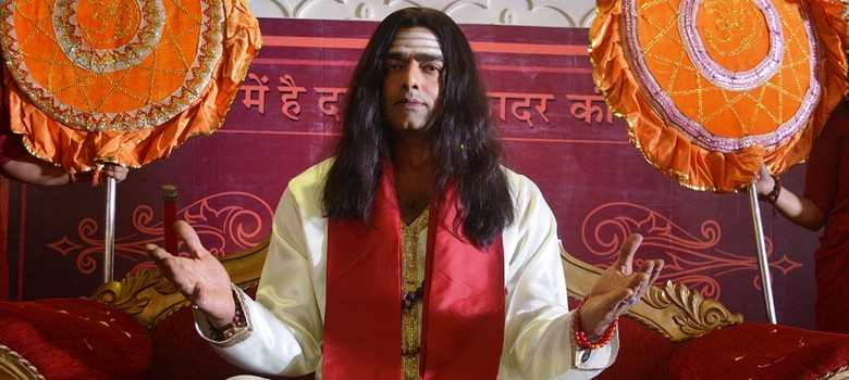 Film review: A crooked godman sets up a parallel power centre in the well-timed 'Global Baba'
