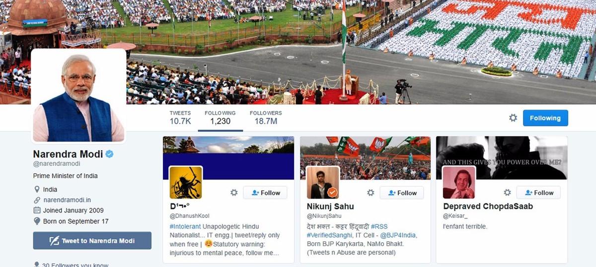 ट्विटर पर आपकी संगति कुछ ठीक नहीं लगती प्रधानमंत्री जी!