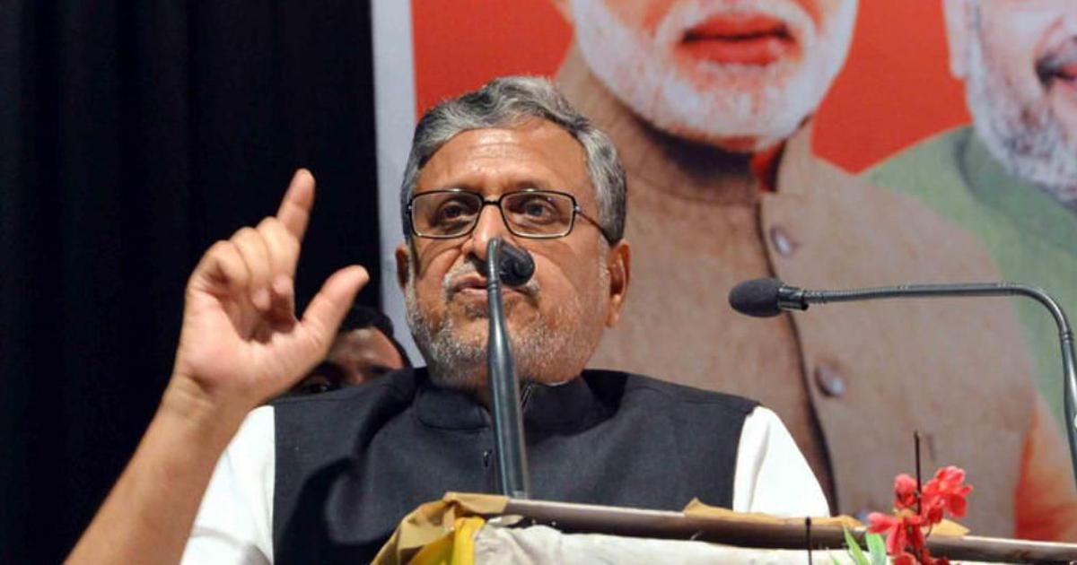 बिहार में एनडीए को प्रधानमंत्री नरेंद्र मोदी के नाम और नीतीश के काम पर वोट मिलेगा : सुशील मोदी