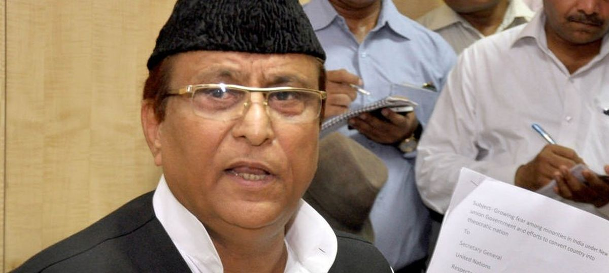 FIR filed against Azam Khan for his 'khaki underwear' comment allegedly about Jaya Prada