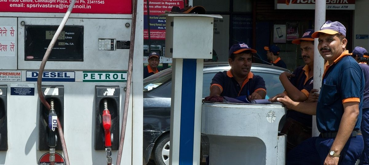 Petrol price hiked by 13 paise a litre, diesel slashed by 12 paise