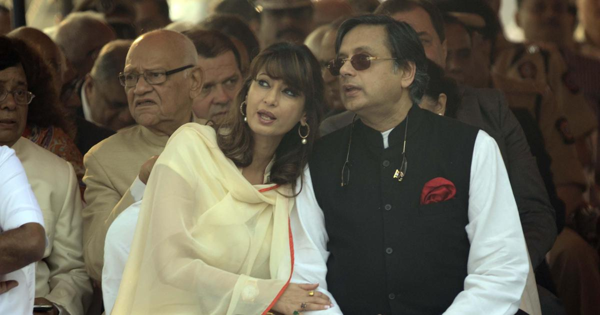 Delhi Police charge Shashi Tharoor with abetting Sunanda Pushkar's suicide, he calls it preposterous