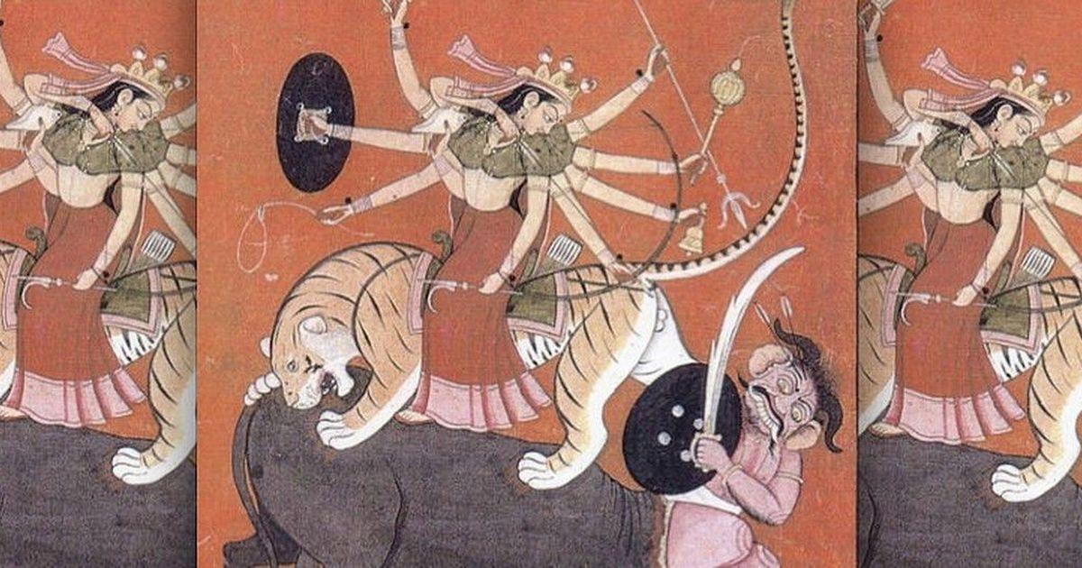 भारत में स्त्रीस्वरूप की पूजा तभी हो सकती है जब वह शेर पर सवार हो