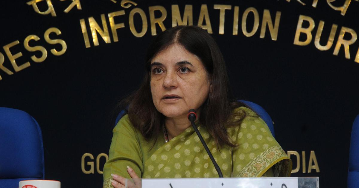भारत 'अहिंसा मीट' के लिए तैयार है : मेनका गांधी