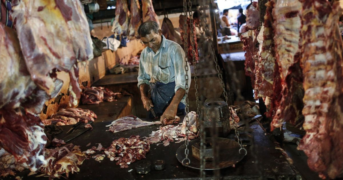 Uttar Pradesh meat crackdown: Chief secretary says closing illegal slaughter houses 'is a priority'