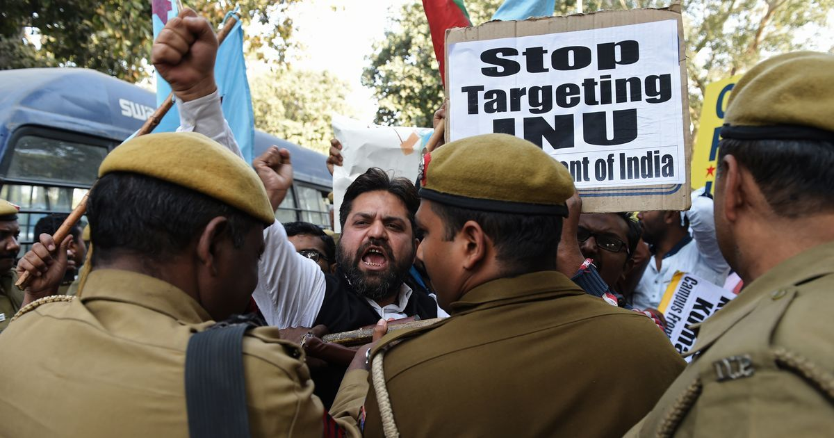 'They are students, not criminals': Delhi High Court orders police to stay out of JNU campus