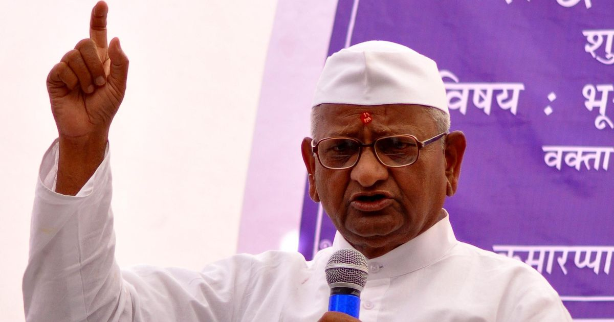 Upset with Modi, Anna Hazare to protest in Delhi
