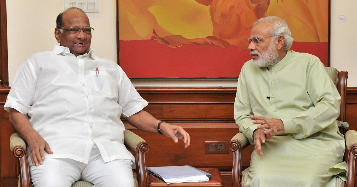 Plot to assassinate PM Modi is BJP government's ploy to gain sympathy, alleges Sharad Pawar